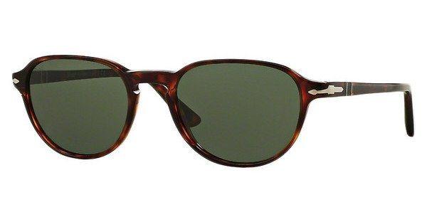 Persol Herren Sonnenbrille » PO3053S« in 901531 - braun/grün