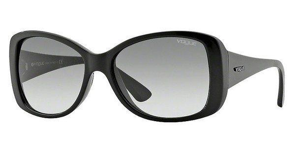 Vogue Damen Sonnenbrille » VO2843S« in W44/11 - schwarz/grau