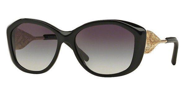 Burberry Damen Sonnenbrille » BE4208Q« in 30018G - schwarz/grau