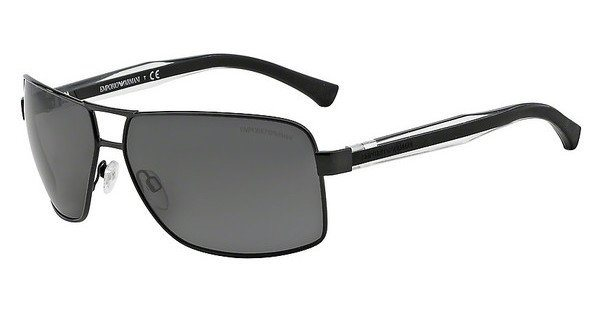 Emporio Armani Herren Sonnenbrille » EA2001« in 301487 - schwarz/grau