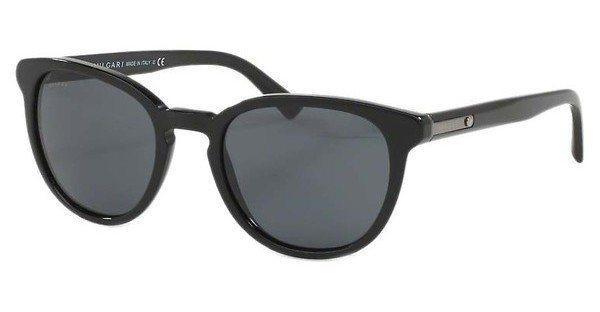 Bvlgari Herren Sonnenbrille » BV7019« in 501/87 - schwarz/grau