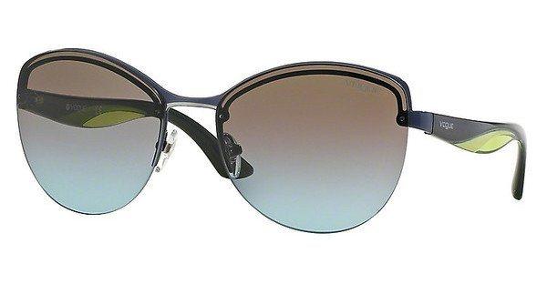 Vogue Damen Sonnenbrille » VO3972S« in 982/48 - blau/blau