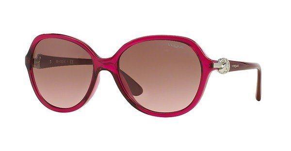 Vogue Damen Sonnenbrille » VO2916SB« in 213214 - rot/rosa