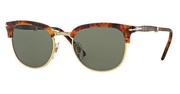 Persol Herren Sonnenbrille » PO3132S« in 108/58 - braun/grün