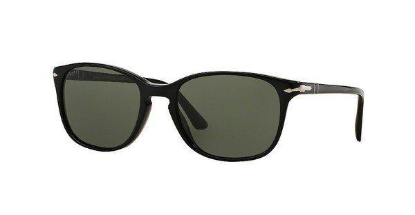 PERSOL Persol Sonnenbrille » PO3133S«, schwarz, 901458 - schwarz/grün