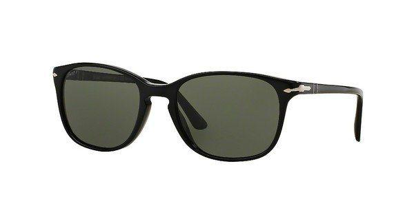 Persol Sonnenbrille » PO3133S« in 901458 - schwarz/grün