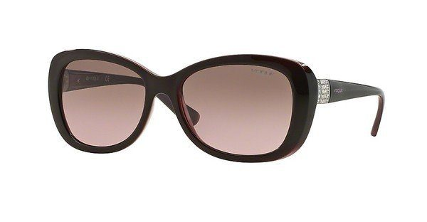 VOGUE Vogue Damen Sonnenbrille » VO5194SB«, rot, 261211 - rot/grau