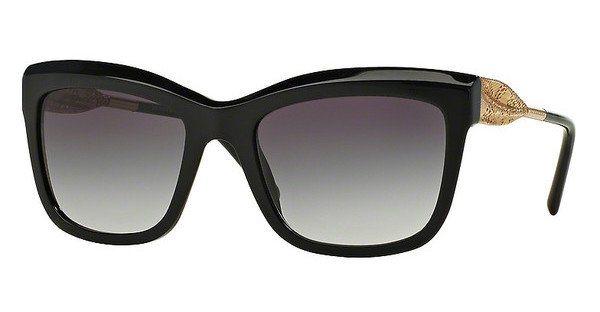 Burberry Damen Sonnenbrille » BE4207« in 30018G - schwarz/grau
