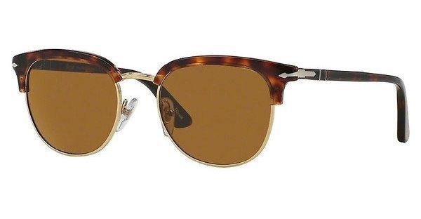 Persol Herren Sonnenbrille » PO3105S« in 24/33 - braun/braun