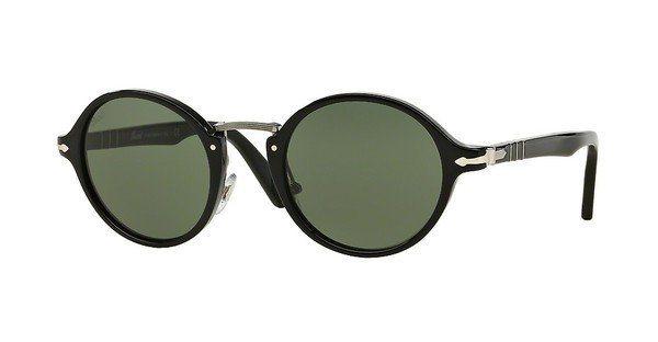 Persol Sonnenbrille » PO3129S« in 95/31 - schwarz/grün