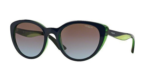 Vogue Damen Sonnenbrille » VO2963S« in 231148 - blau/braun