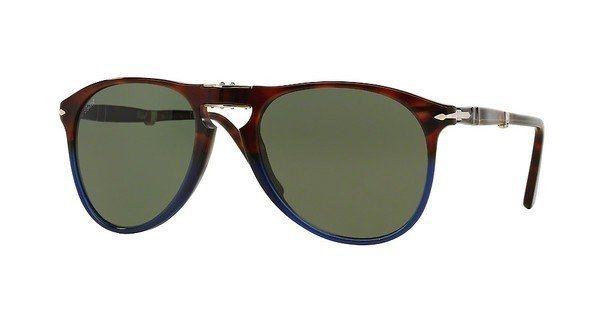 Persol Herren Sonnenbrille » PO9714S« in 102231 - braun/grün