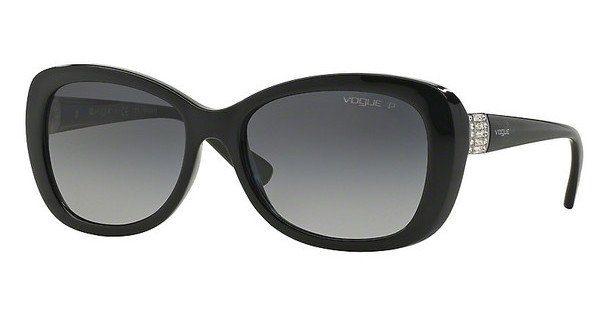 VOGUE Vogue Damen Sonnenbrille » VO2943SB«, schwarz, W44/11 - schwarz/grau