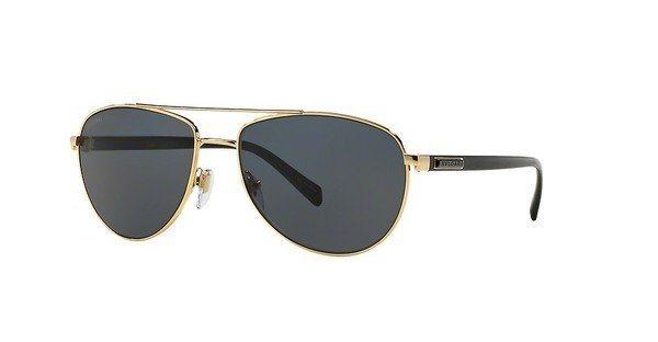 Bvlgari Herren Sonnenbrille » BV5026K« in 390/81 - gold/blau