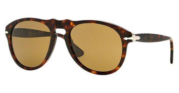 Persol Herren Sonnenbrille » PO0649« in 24/33 - braun/braun