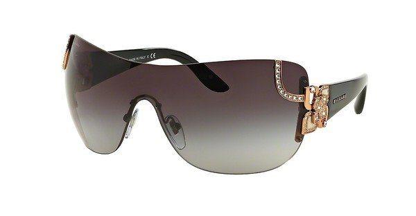 Bvlgari Damen Sonnenbrille » BV6079B« in 376/8G - gold/grau