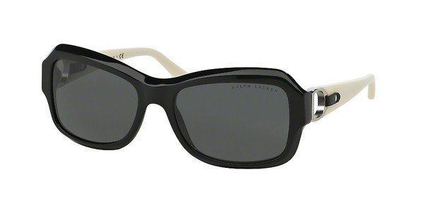 Ralph Lauren Damen Sonnenbrille » RL8107Q« in 500187 - schwarz/grau