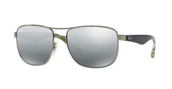 RAY-BAN Herren Sonnenbrille » RB3533« in 004/88 - grau/silber