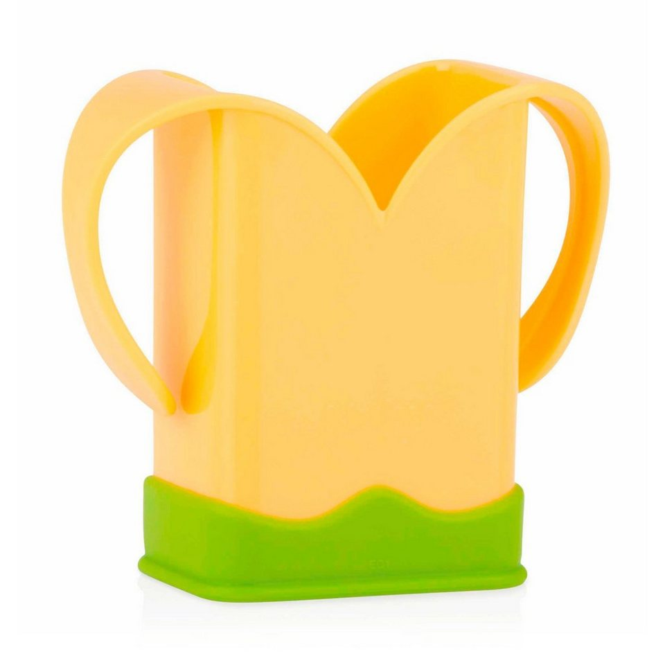 NÛBY Getränkehalter für Tetrapacks in gelb