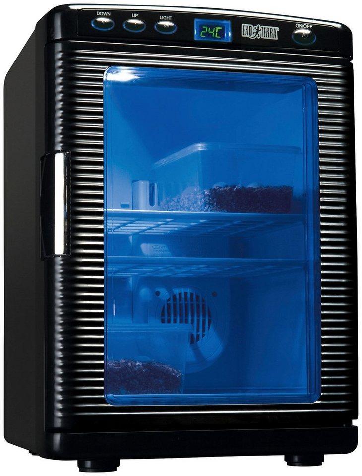 EX Inkubator für Terrarien, B/T/H: 32/44/36 cm in schwarz