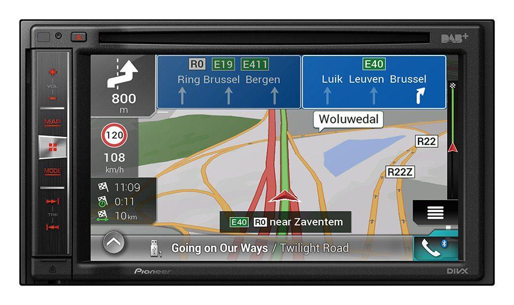 PIONEER 2-DIN Mediacenter mit Navigation »AVIC-F980DAB«
