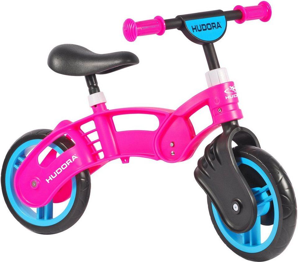 Hudora Laufrad mit Sicherheitshandgriffen, »Koolbike Girl« in pink