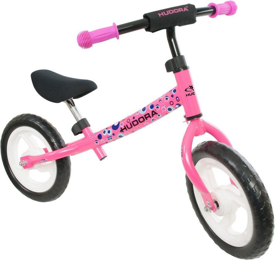 Hudora Laufrad mit Lenkeraufprallschutz, »Seven pink« in pink