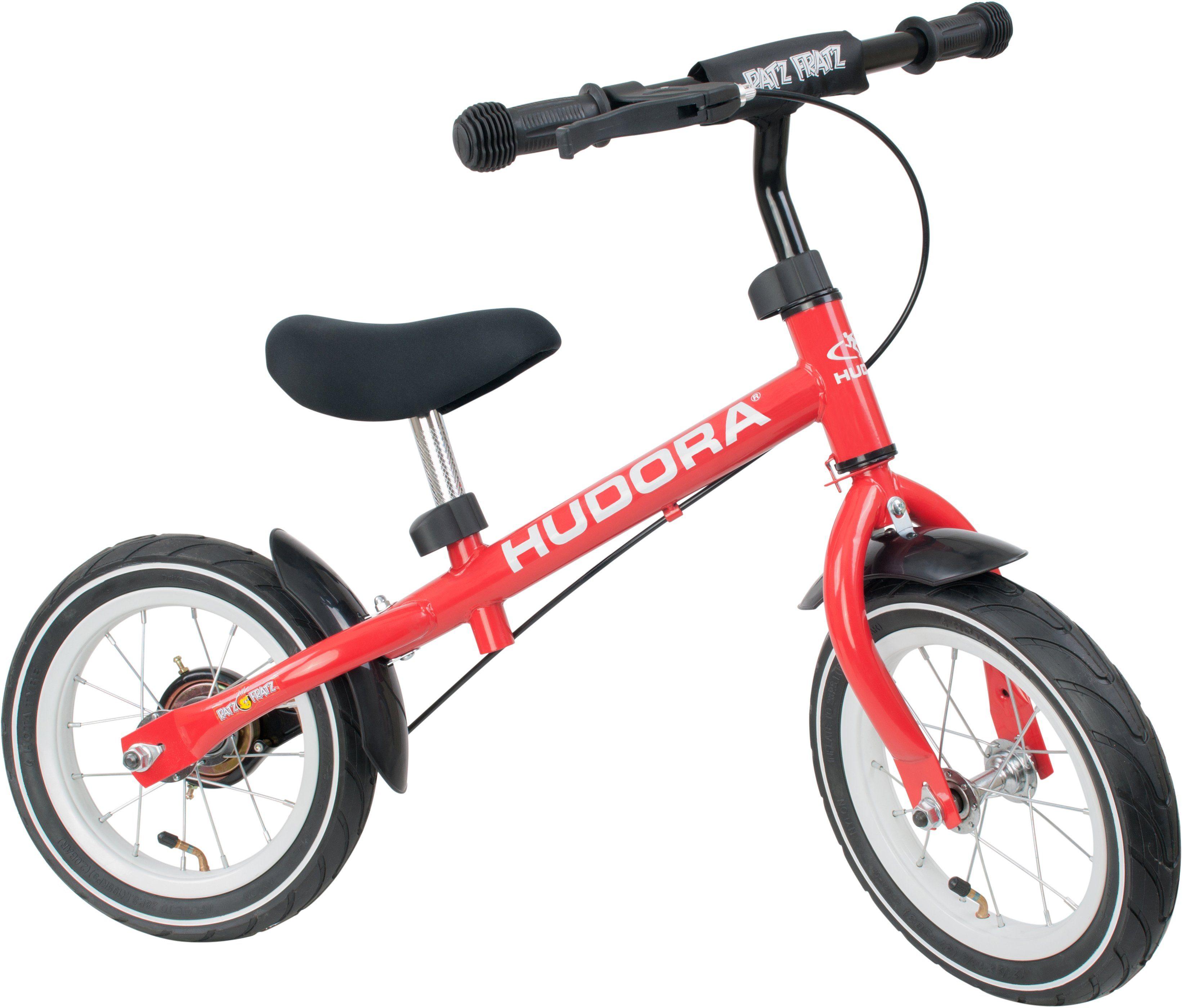 Hudora Laufrad mit verstellbarem Sattel und Lenker, »Ratzfratz Air rot«