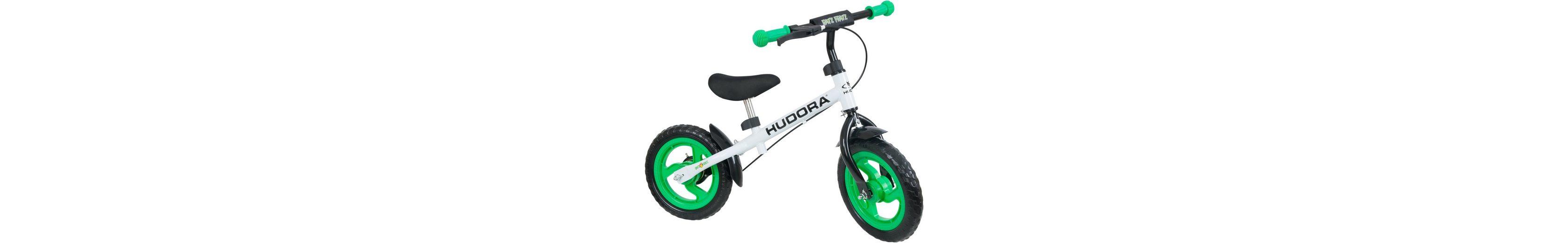 Hudora Laufrad mit Kunststofffelgen, »Ratzfratz grün«