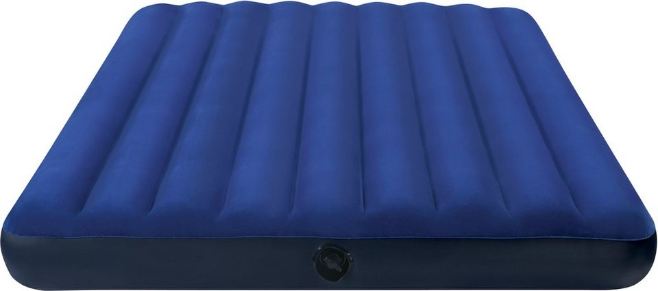 Intex Luftbett, 191/76/22 cm, blau, »Classic Downy Bed« in blau