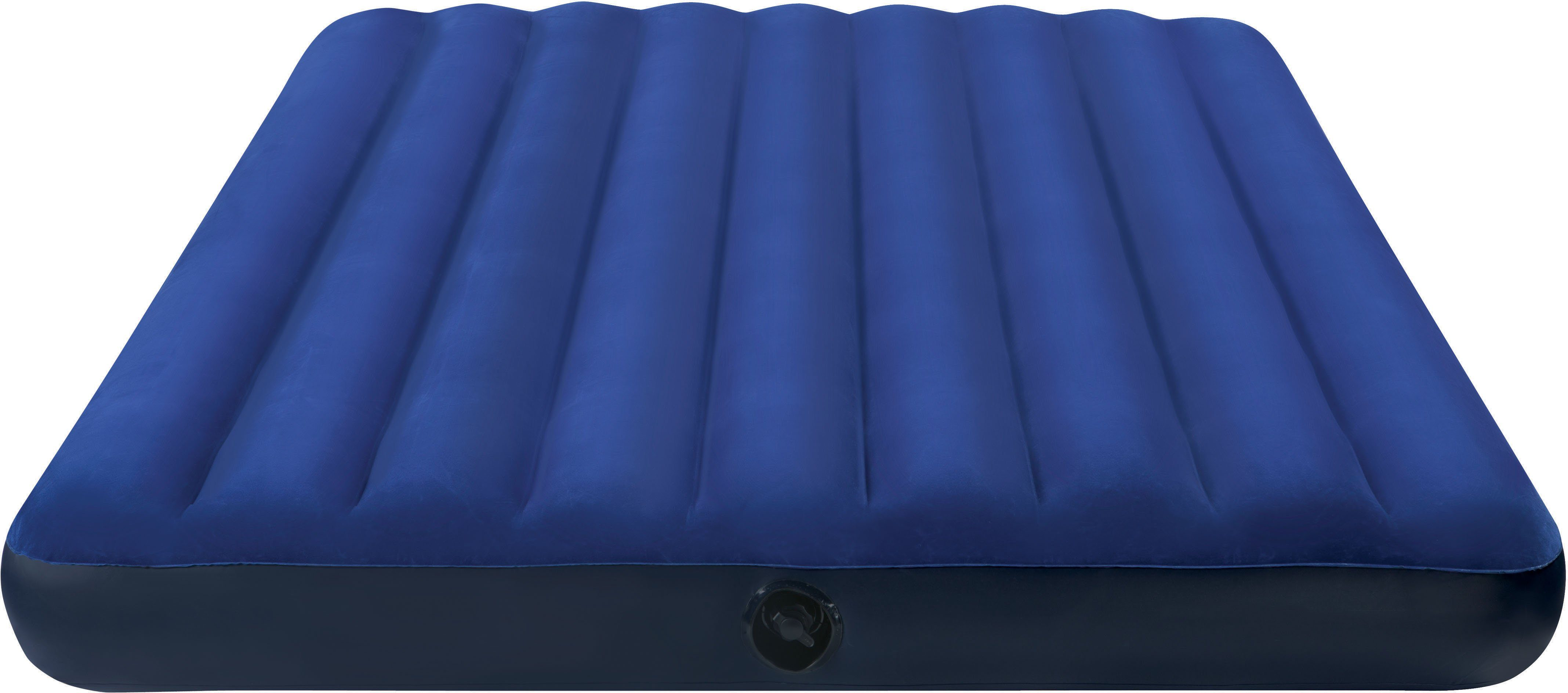 Intex Luftbett, 191/76/22 cm, blau, »Classic Downy Bed«