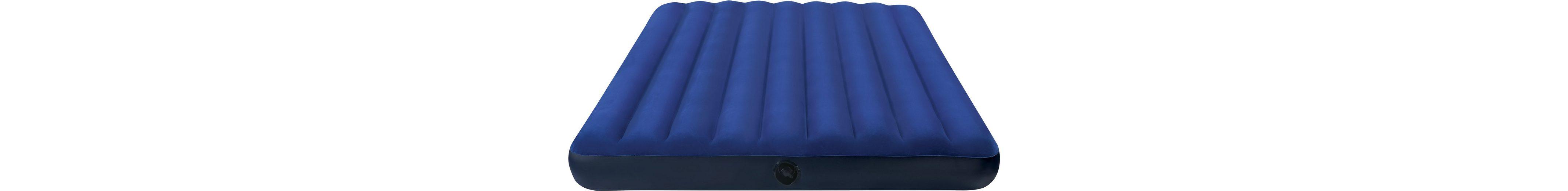Intex Luftbett, 191/76/22 cm, blau, »Classic Downy Bed«