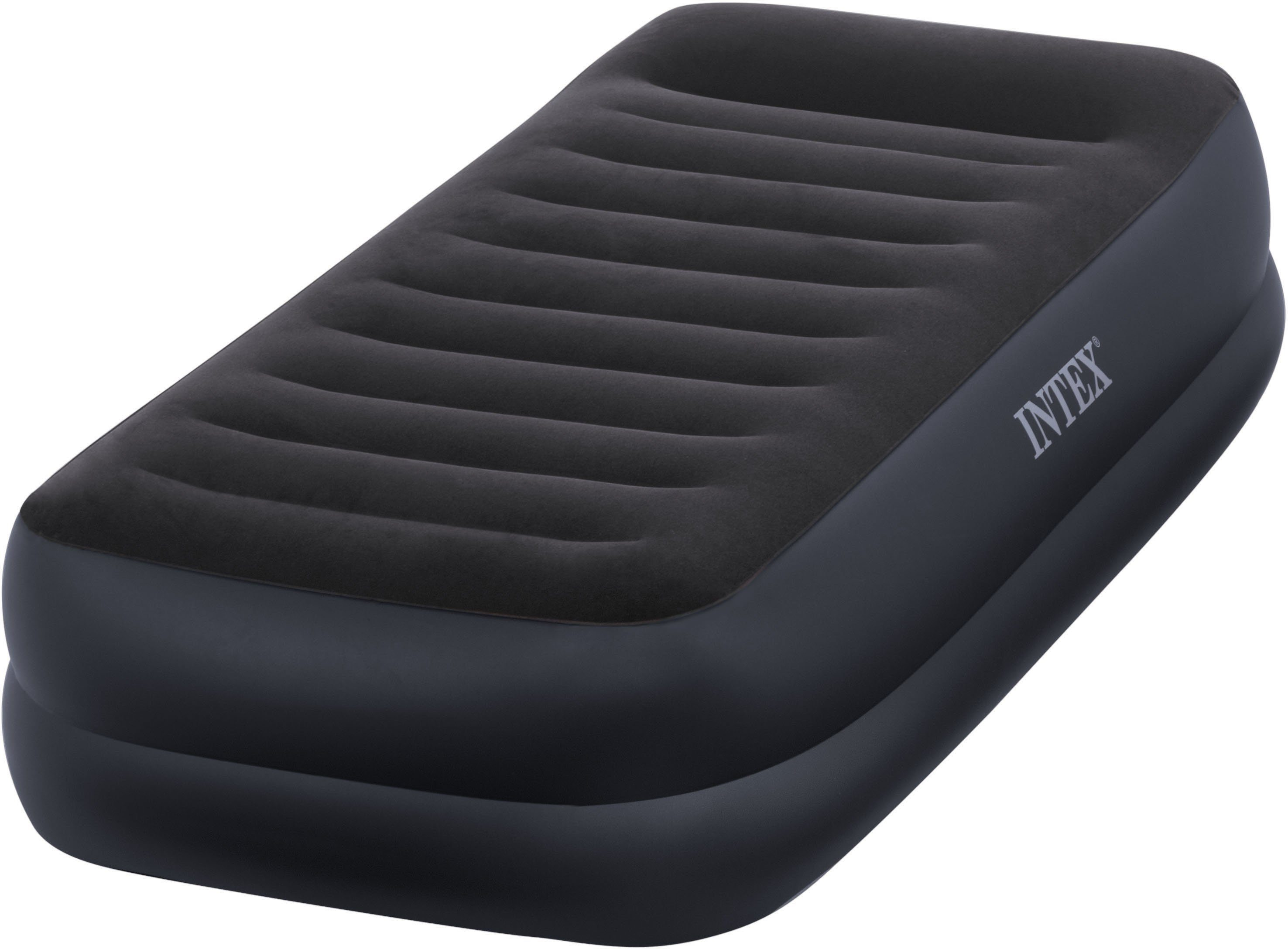 Intex Luftbett mit integrierter Elektropumpe, 191/99/42 cm, »Pillow Rest Raised Bed Twin«