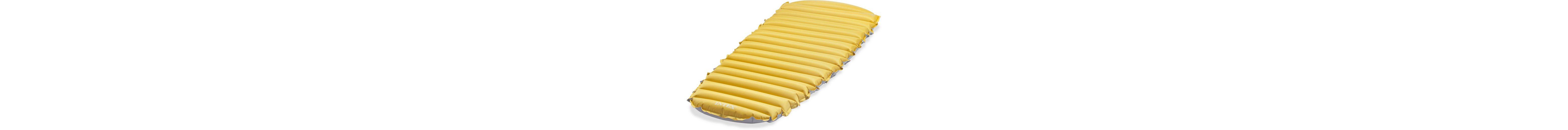 Intex Camping Matratze, 183/76/10 cm, gelb-grau, »Cot Size Camp Bed«