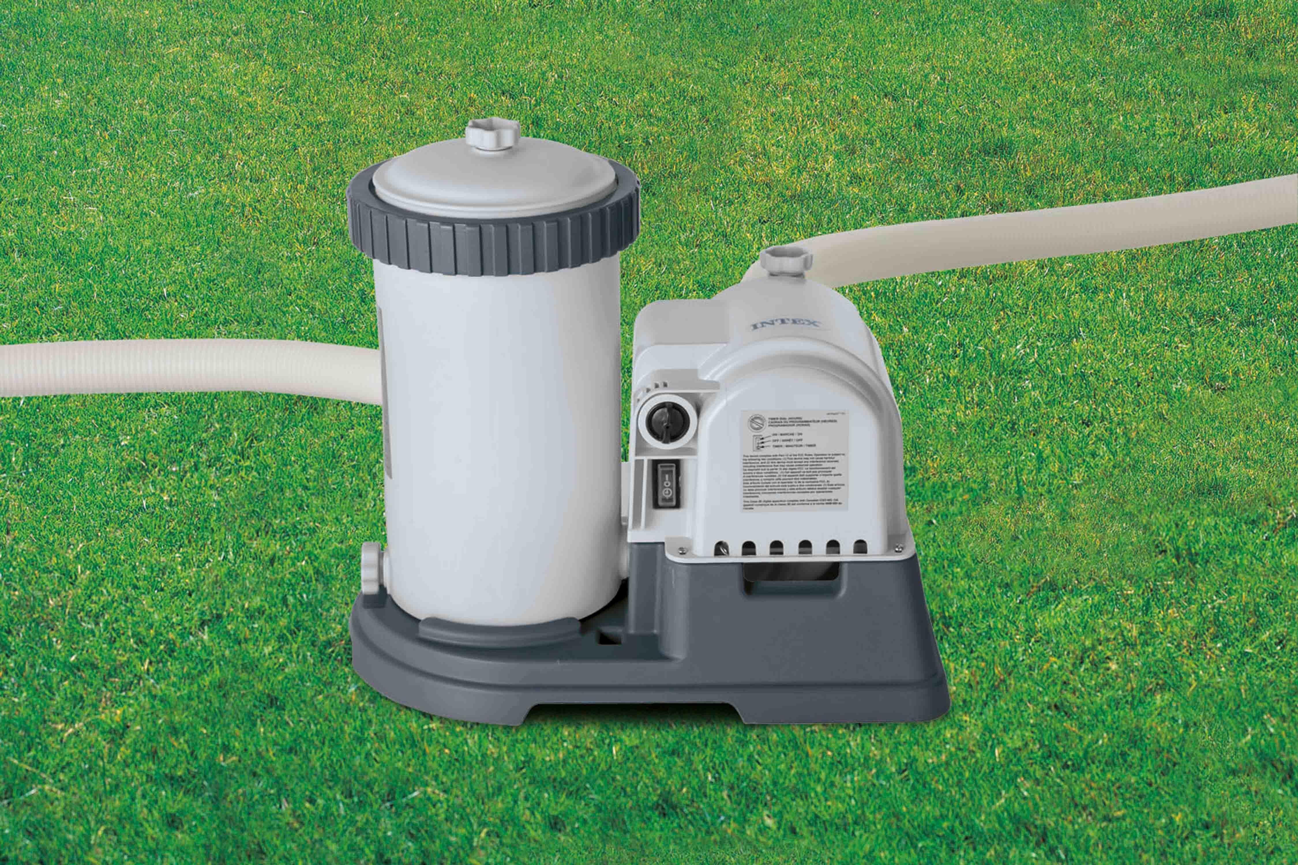 Intex Filterpumpe, grau, »Kartuschenfilteranlage ECO«