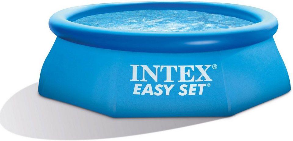 Intex Pool-Set, mit Kartuschenfilteranlage, Ø 244 cm, »Easy Set Pool-Set« in blau