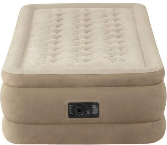 Intex Luftbett »Ultra Plush Bed Twin«, (mit Transporttasche)