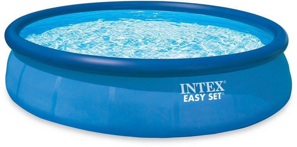 Intex Pool-Set, mit Kartuschenfilteranlage, Ø 457 cm, »Easy Set Pool-Komplettset« in blau