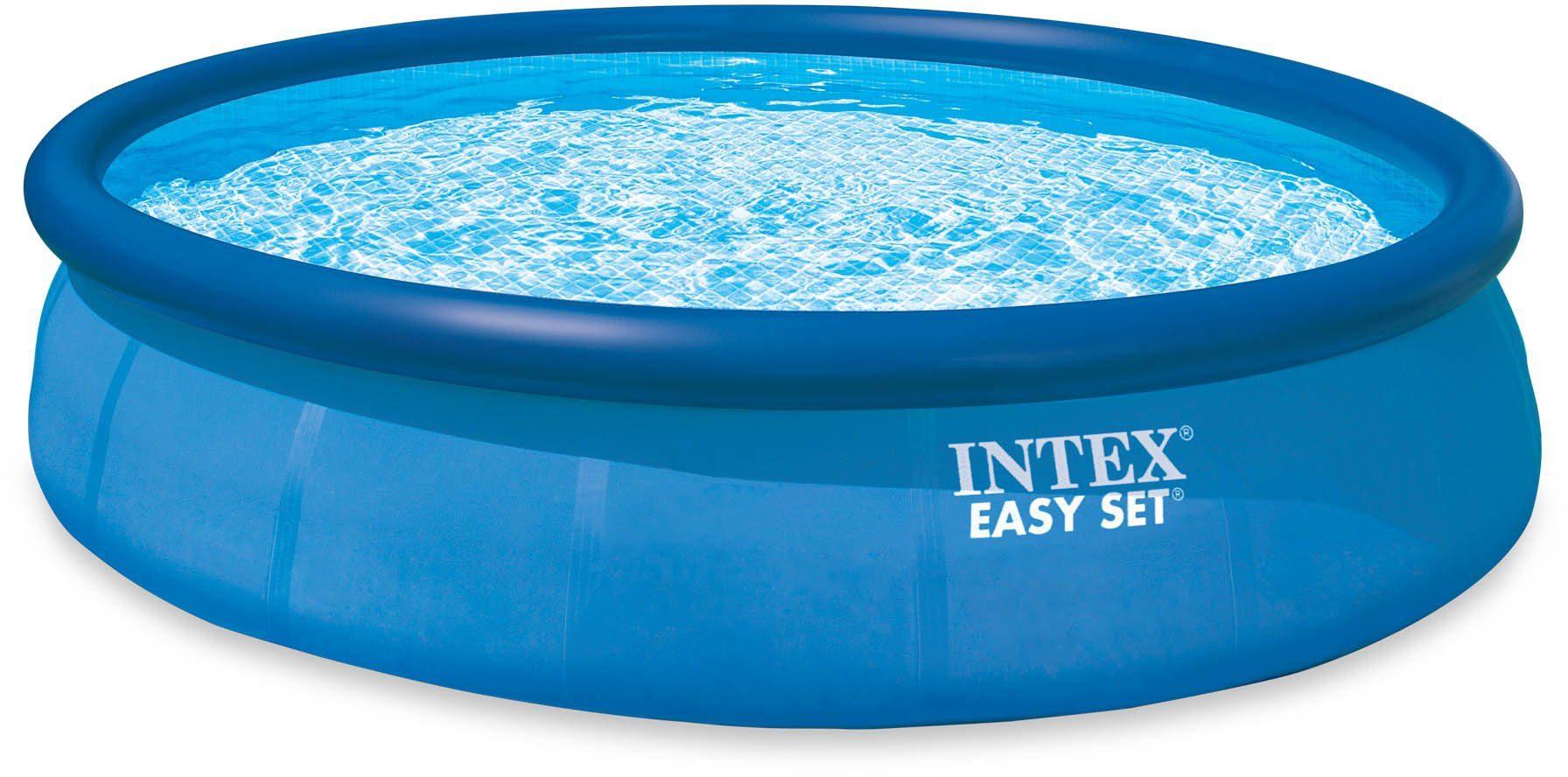 Intex Pool-Set, mit Kartuschenfilteranlage, Ø 457 cm, »Easy Set Pool-Komplettset«