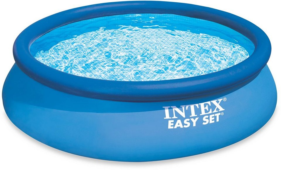 Intex Pool-Set, mit Kartuschenfilteranlage, Ø 396 cm, »Easy Set Pool-Set« in blau