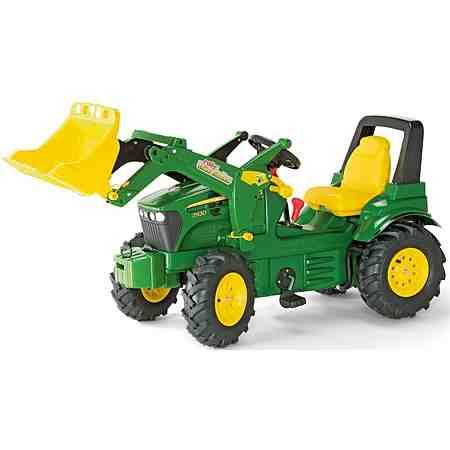 rolly toys® Trettraktor mit Frontlader und Luftbereifung »rolly Farmtrac JD 7930«