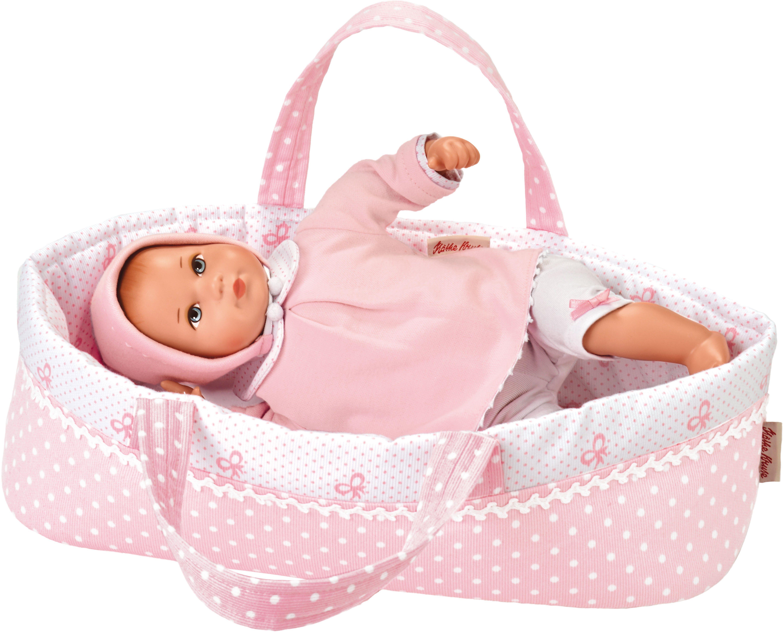 Käthe Kruse Babypuppe mit Wickeltasche, »Mini Bambina Anna mit Tasche«