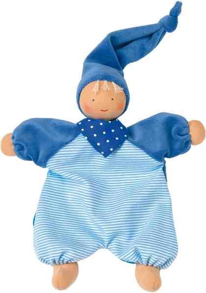 Käthe Kruse Stoffpuppe mit Zipfelmütze, »Gugguli Blau«