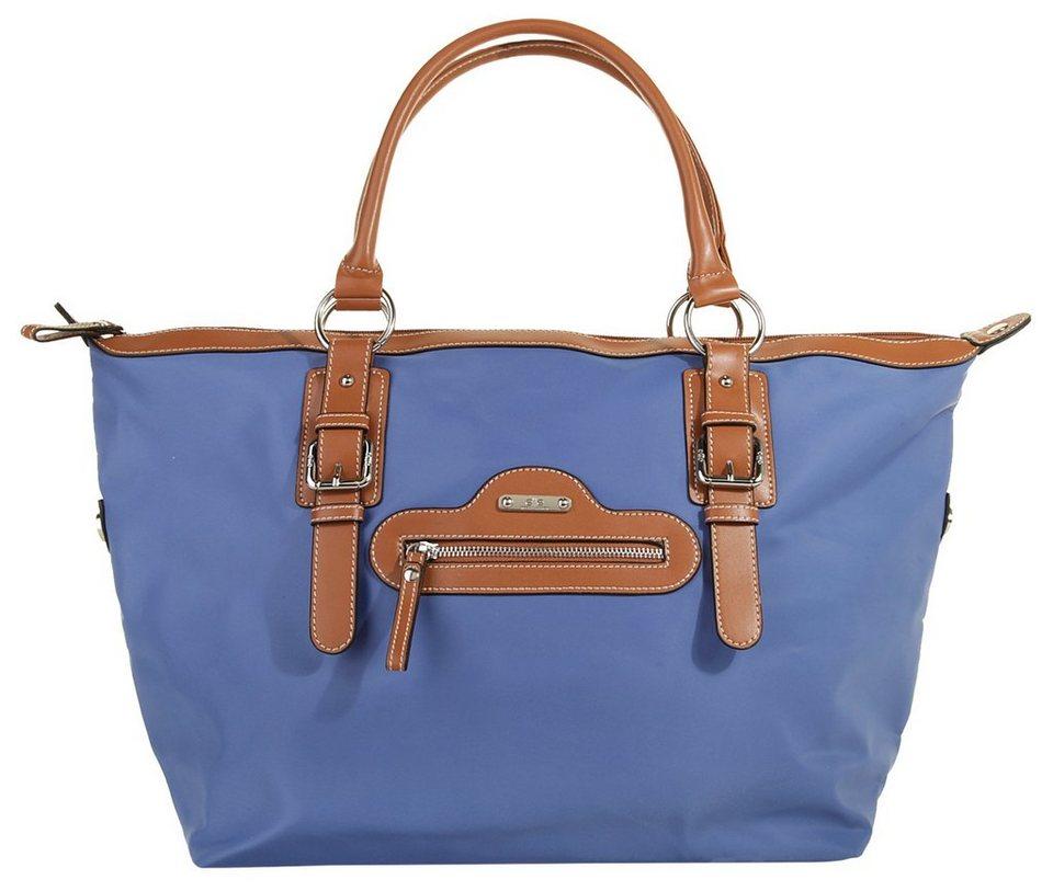 ELITE MODEN Damen Maxi Shopper »Sport« in blau