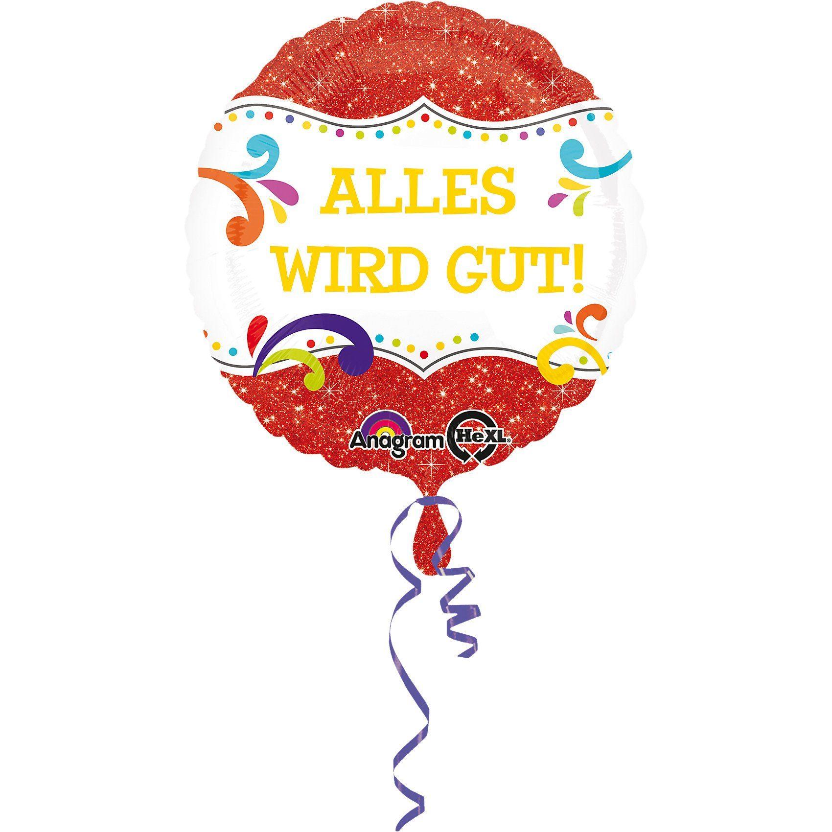Amscan Folienballon Alles wird gut!