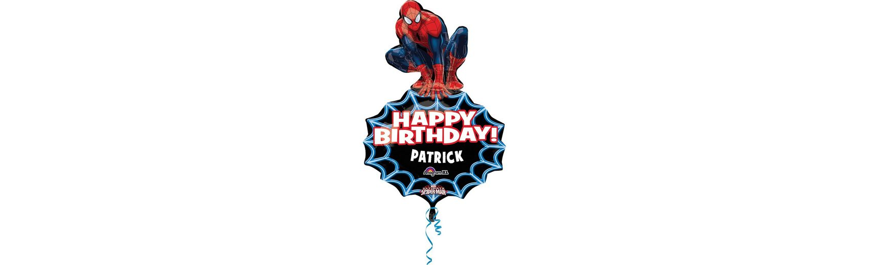 Amscan Folienballon Spider-Man personalisierbar