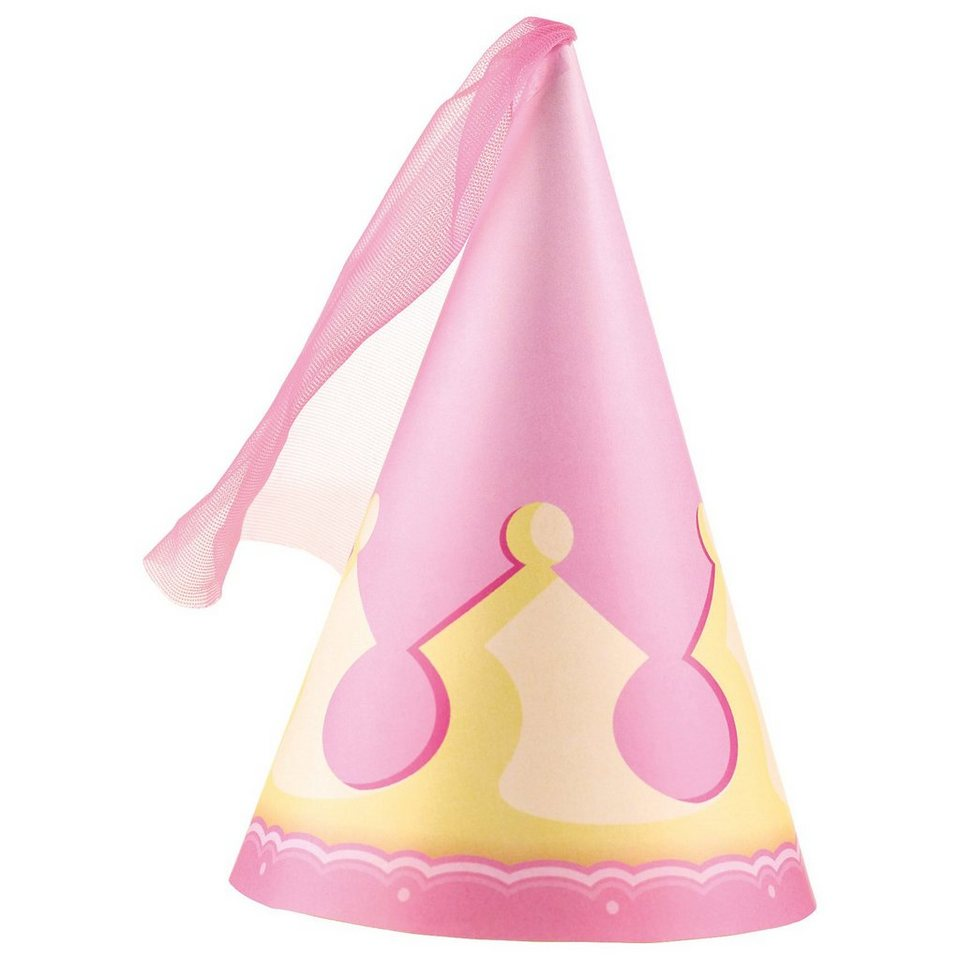 Amscan Partyhüte My Princess, 4 Stück