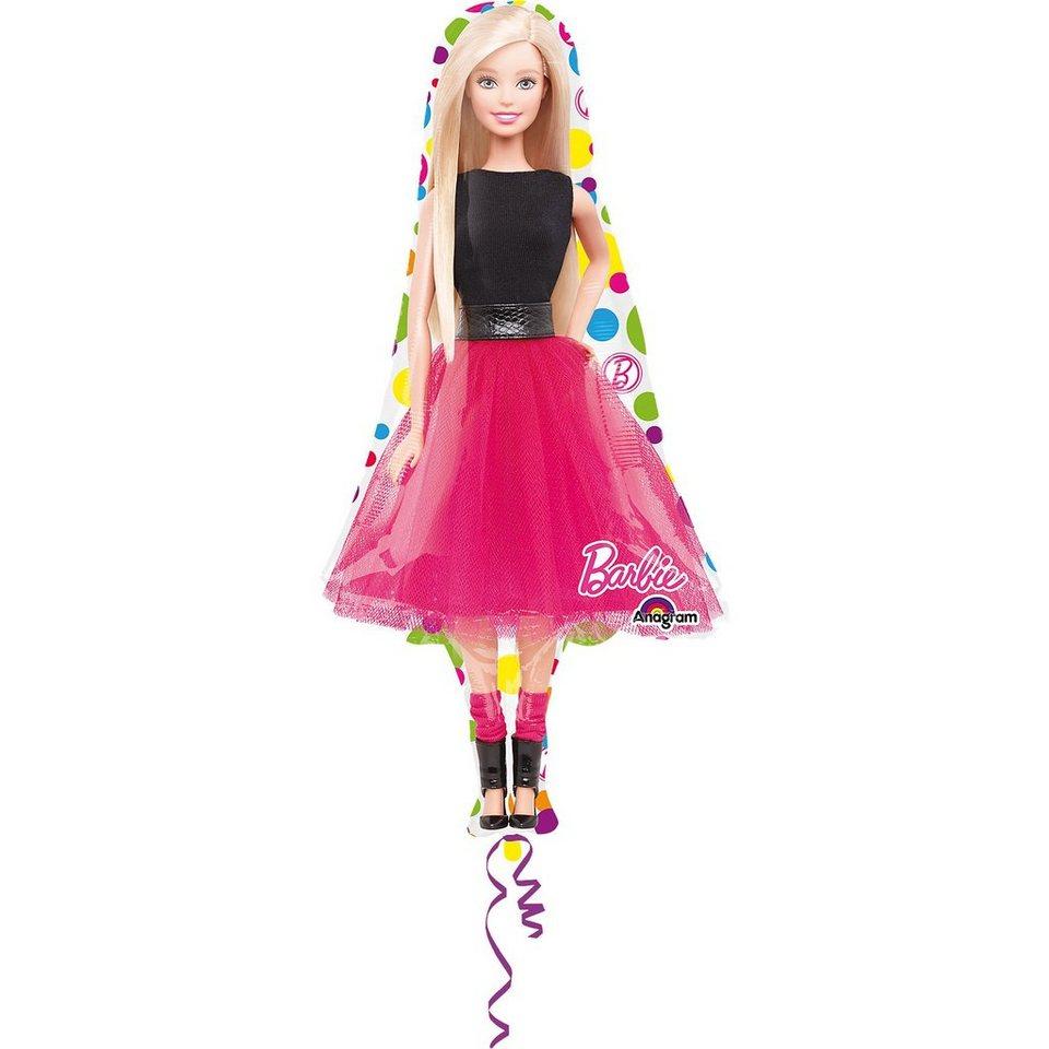 Amscan Folienballon Supershape Barbie