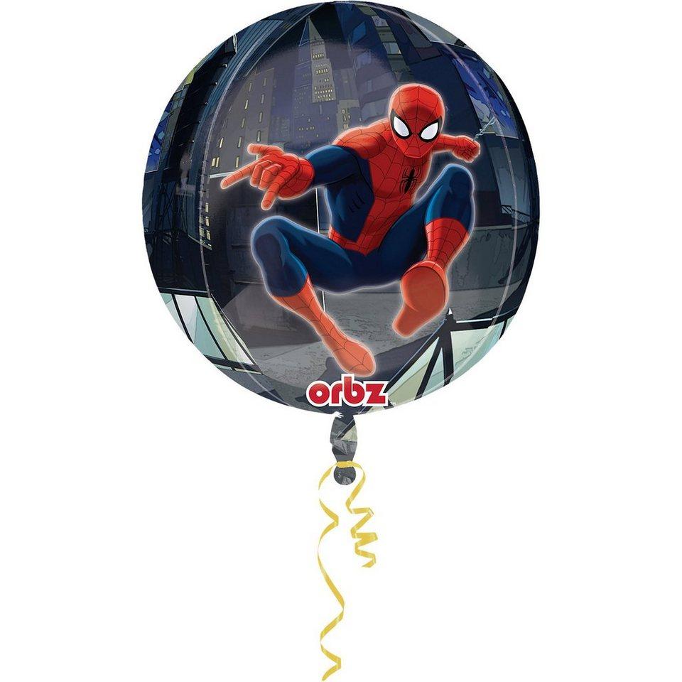Amscan Folienballon Orbz Spider-Man