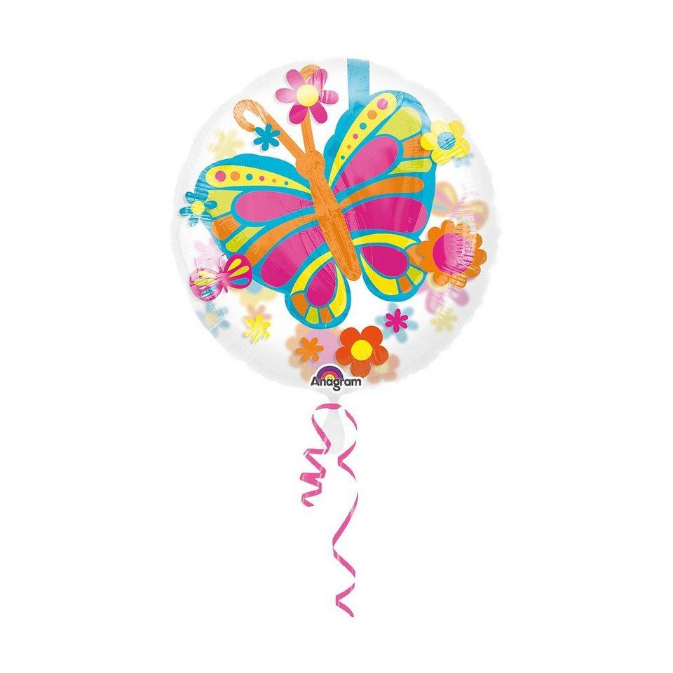Amscan Folienballon Schmetterling